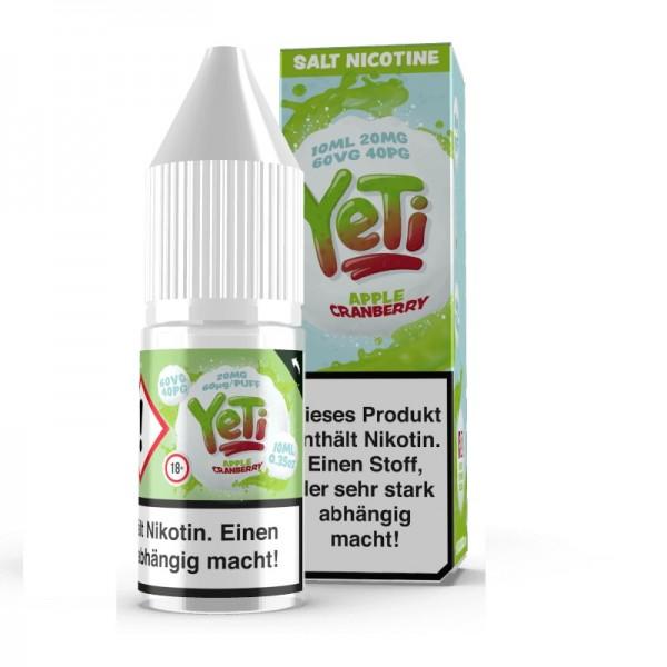 Yeti - Apple Cranberry Nikotinsalz Liquid