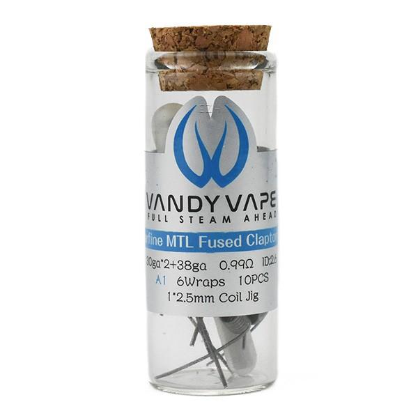 Vandy Vape - Prebuilt A1 Superfine MTL Fused Clapton Coil 0.99 Ohm - P8