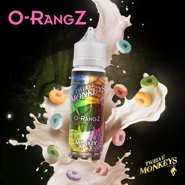 12 Monkeys 50ml O-RANGZ