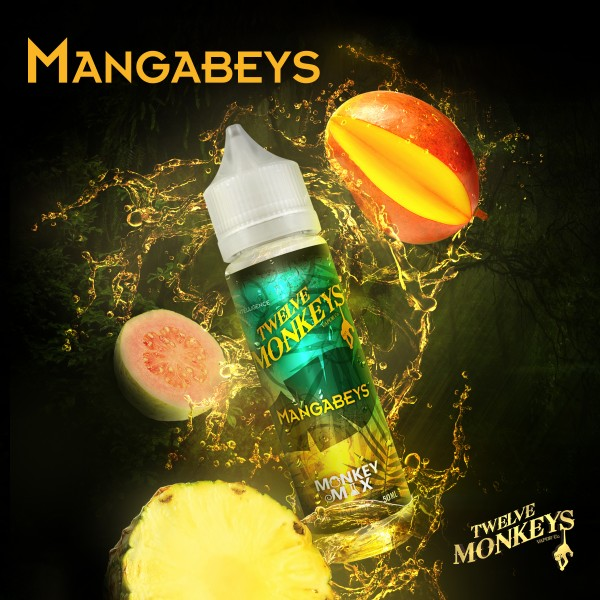 12 Monkeys 50ml MANGABEYS