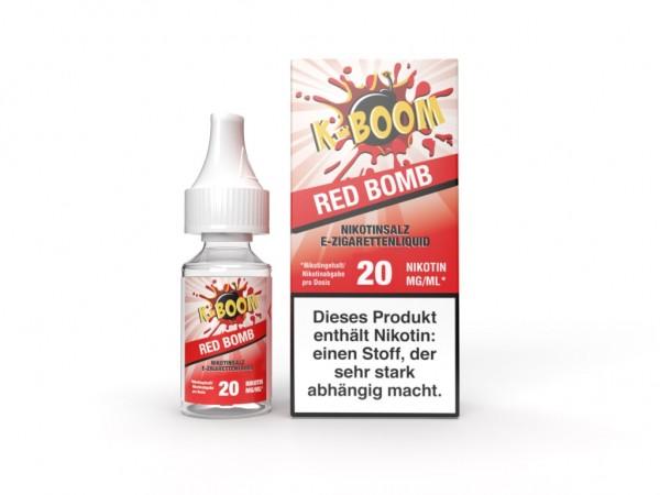 Red Bomb Liquid 10 ml Nic Salt 20 mg