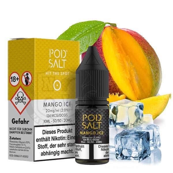 Mango Ice 20 mg Nikotinsalz Liquid