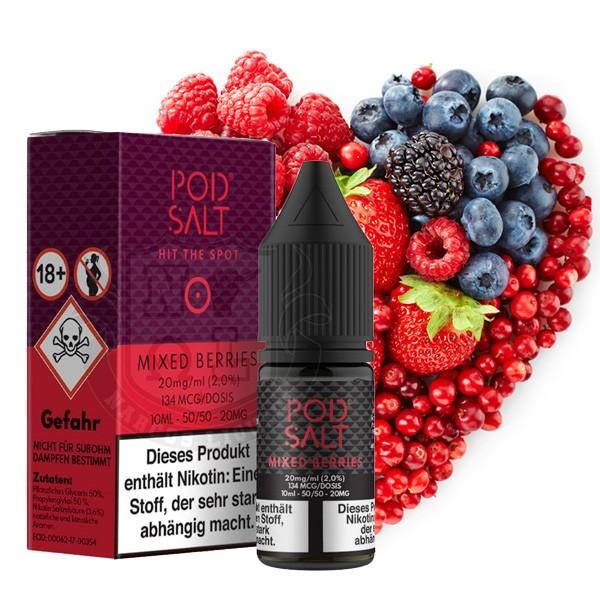 Mixed Berries 20 mg Nikotinsalz Liquid