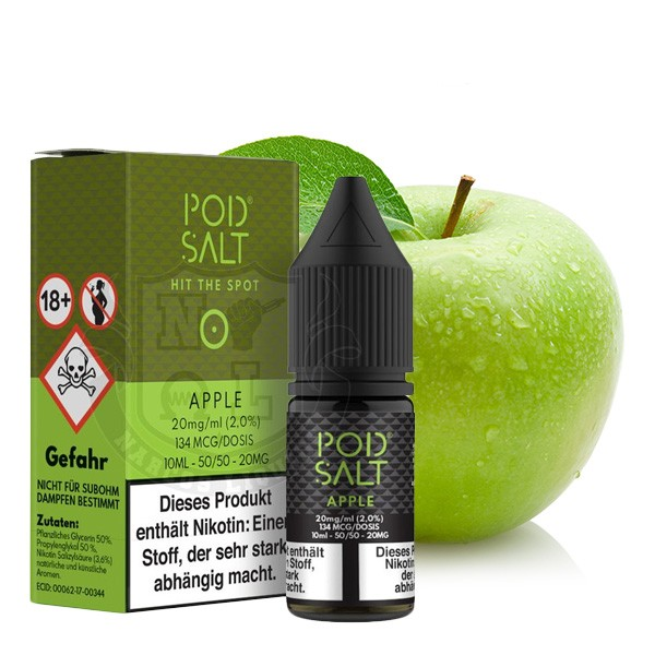 Apple 20 mg Nikotinsalz Liquid