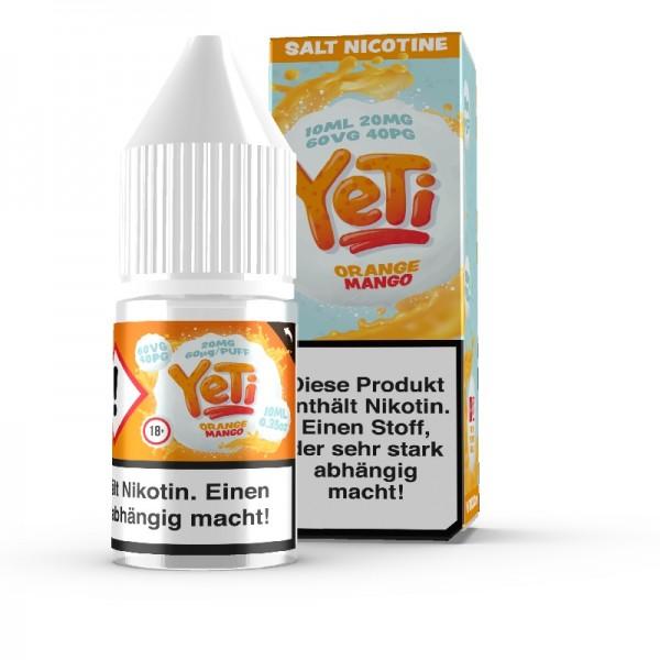 Yeti - Orange Mango Nikotinsalz Liquid