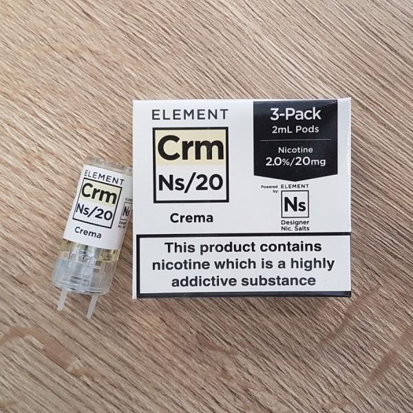 CRM Crema 20mg Nic Salt gusto mini