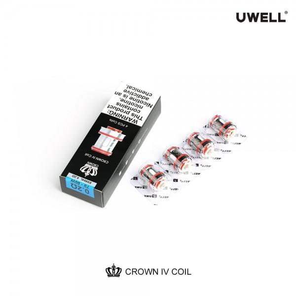 Uwell - CROWN IV Ersatz-Verdampfer 0,2 & 0,4 Ohm