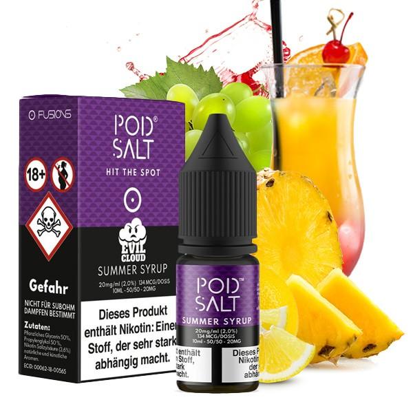 Summer Syrup 20 mg Nikotinsalz Liquid