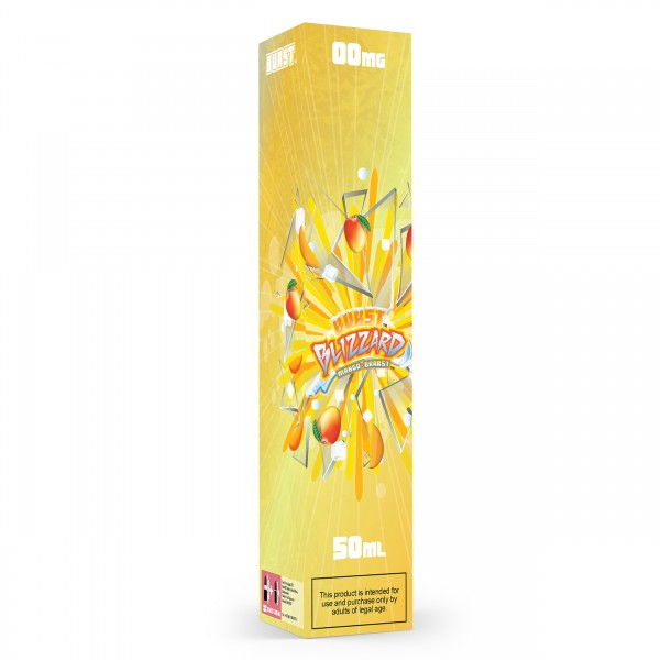 Burst BLIZZARD MANGO-BRRRST 50ml