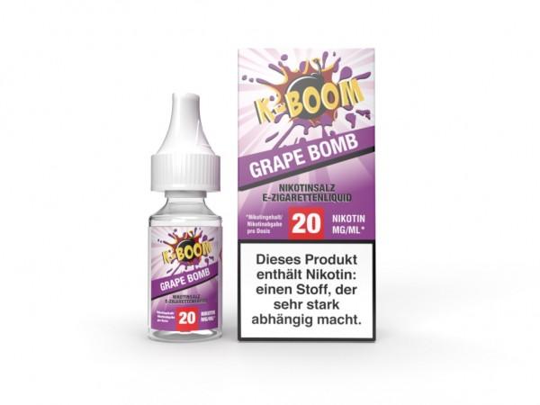 Grape Bomb Liquid 10 ml Nic Salt 20mg