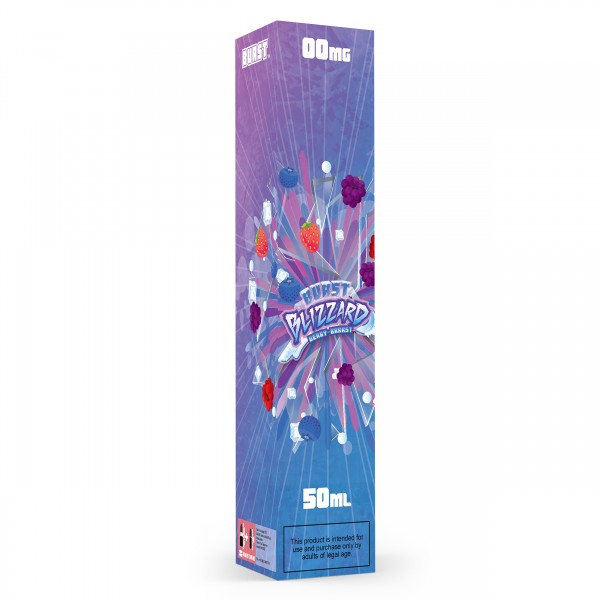 Burst BLIZZARD BERRY-BRRRST 50ml