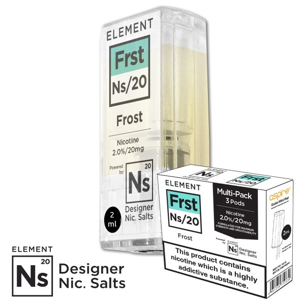 FRST Eisiger Menthol Kick 20mg Nic Salt gusto mini