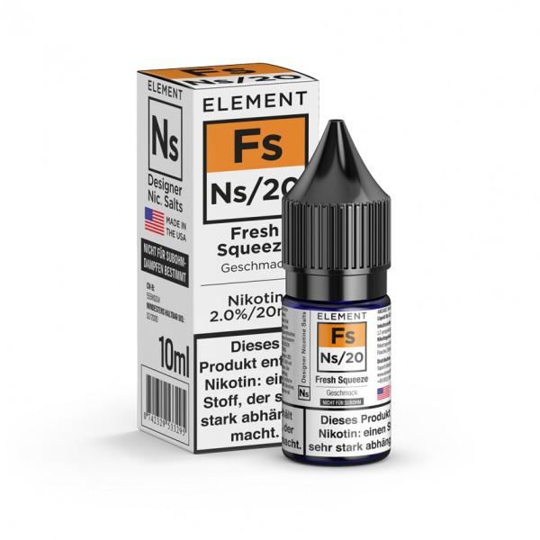 ELEMENT Fs FRESH SQUEEZE 20mg Nic Salt