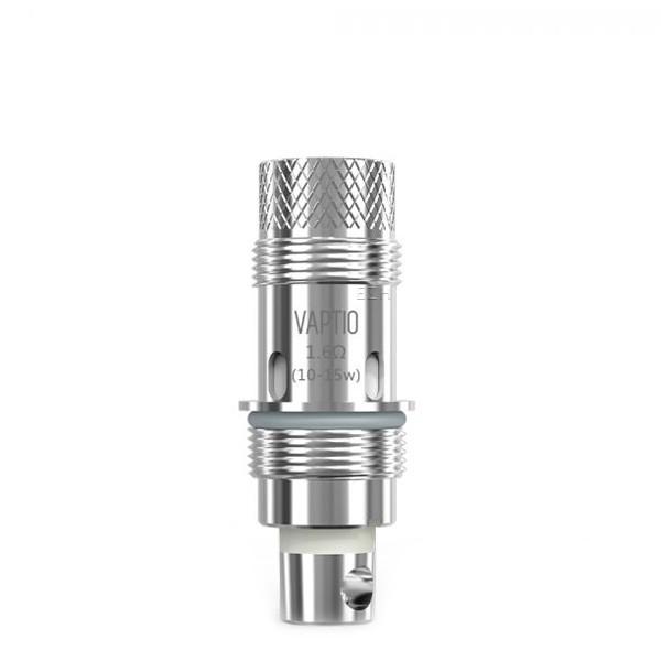 Vaptio - Ersatz Verdampferkopf (0,70 / 1,60 Ohm) Cosmo Plus (kompatibel u.a. mit Aspire®*, DotMod®*)