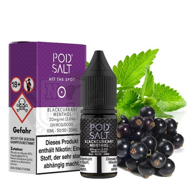 Blackcurrant Menthol 20 mg Nikotinsalz Liquid