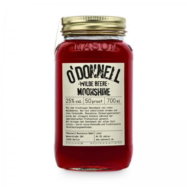 O'DONNELL MOONSHINE - Wilde Beere 25% vol. Likör
