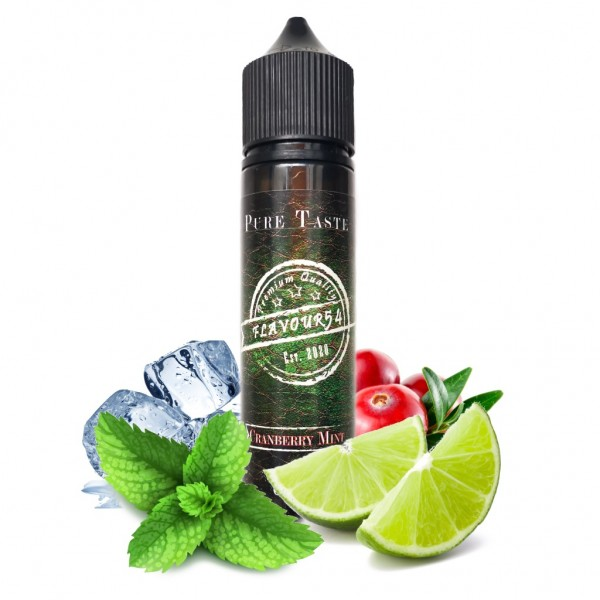 FLAVOUR54 - Cranberry Mint LongFill