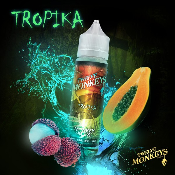 12 Monkeys 50ml TROPIKA