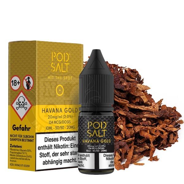 Havanna Gold 20 mg Nikotinsalz Liquid