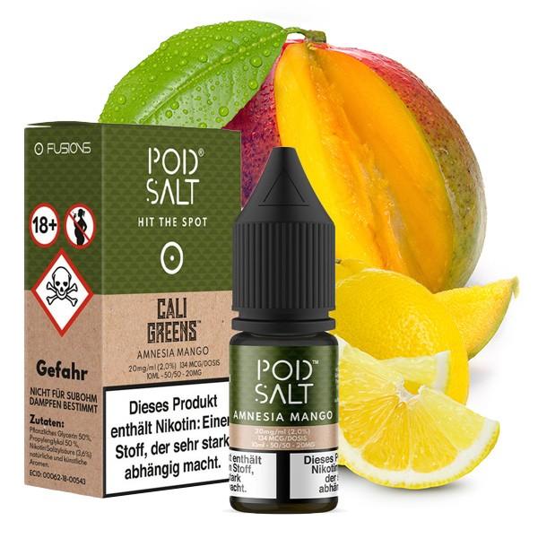Amnesia Mango 20 mg Nikotinsalz Liquid