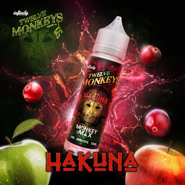 12 Monkeys 50ml HAKUNA
