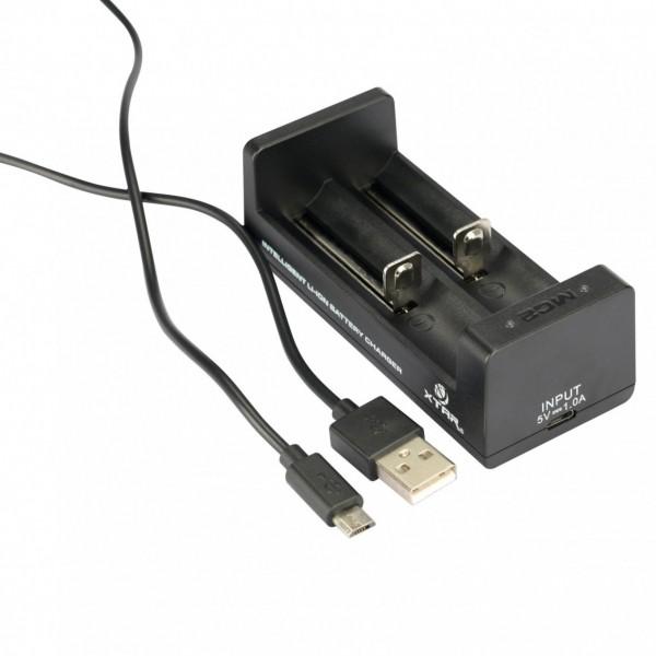 XTAR MC2 Zweischacht-Ladegerät